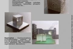 MAQUETTE-ARCHITECTURALE